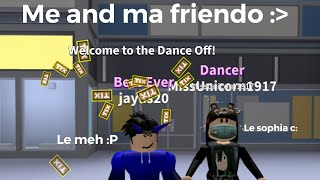 Roblox dance off | Billie eilish - all the good girls go to hell | ID in desc .,.