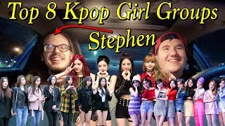 Top 8 // Kpop Girl Groups // Stephen Edition