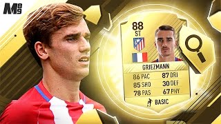 One of Marshall89HD's most viewed videos: FIFA 17 GRIEZMANN REVIEW | 88 GRIEZMANN | FIFA 17 ULTIMATE TEAM PLAYER REVIEW