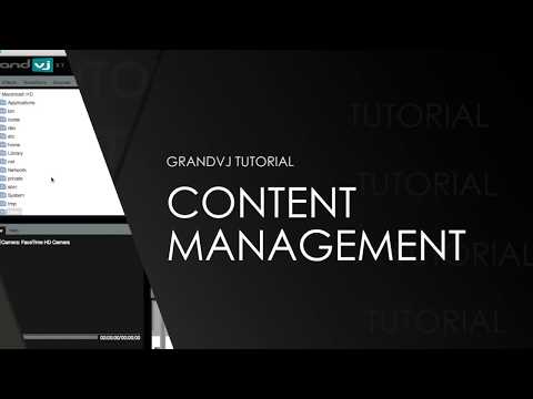 ArKaos GrandVJ Content Management Tutorial