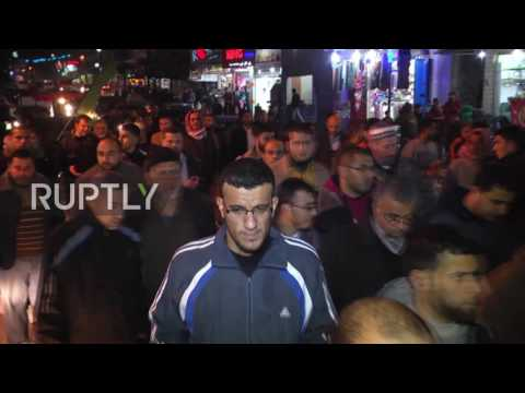State of Palestine: Hamas hold solidarity rally after Israel demolish Bedouin homes