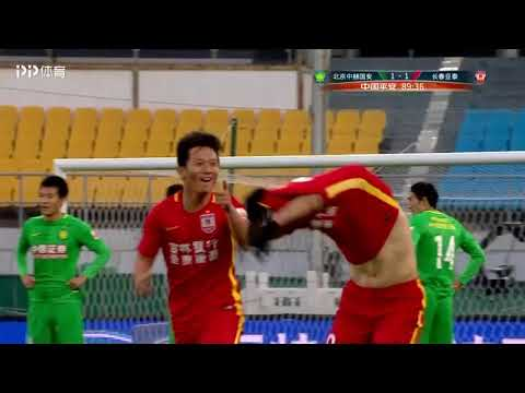 Tan Long Goal | Beijing Guoan 1X2 Changchun YaTai | CSL 04/11/2017