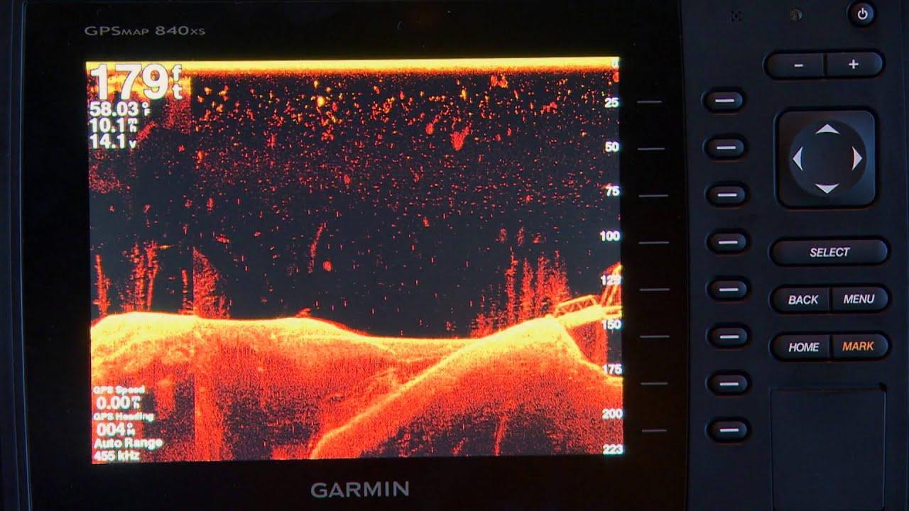 Garmin sonar
