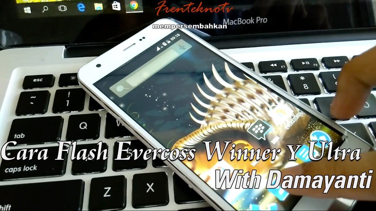 Flash Evercoss Winner Y Ultra A75A With Damayanti