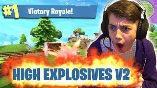 HIGH EXPLOSIVES V2 - Epic Fortnite Victory Royale!!