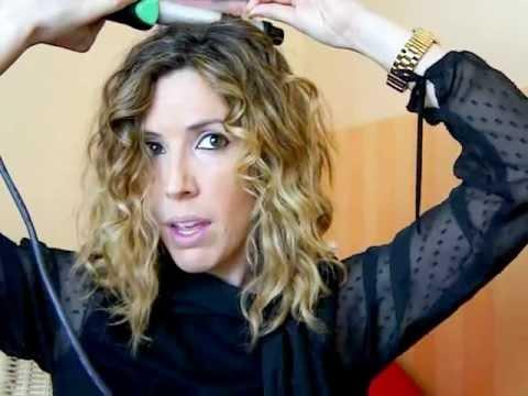 cmo crear rizos con tenacilla - Peinados Con Tenacillas