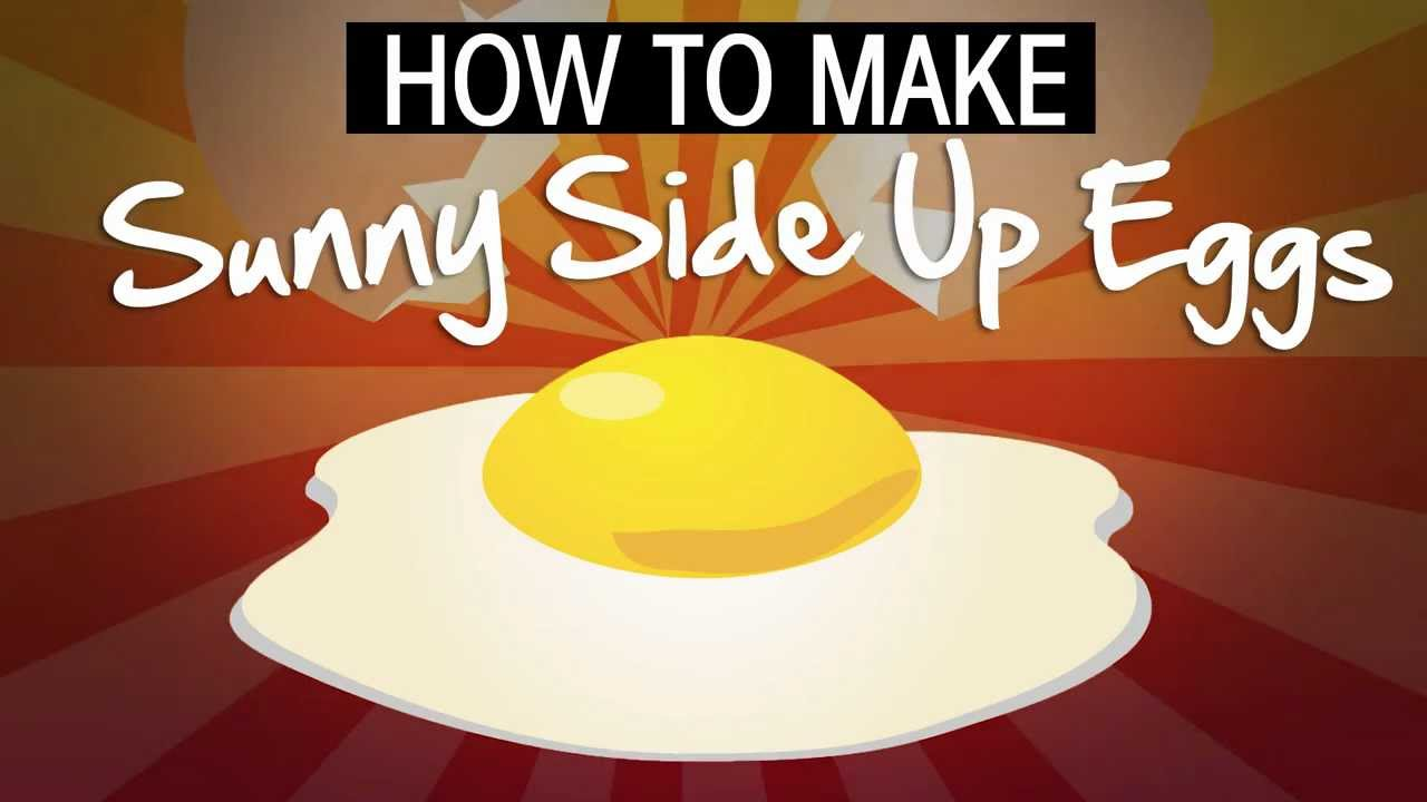 How to Make Sunny Side Up Eggs - YouTube