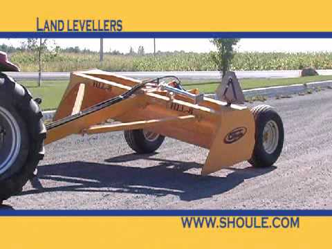 Fabrication S.Houle Land Leveler