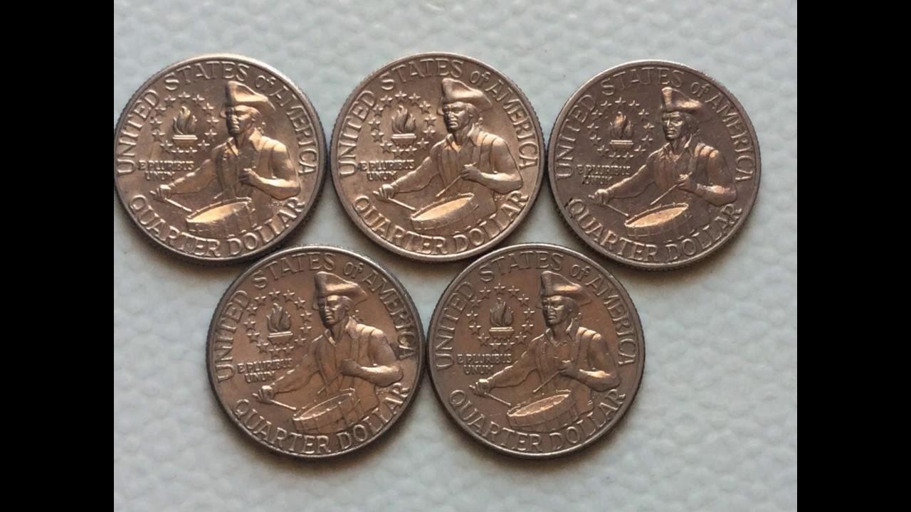 Usa Coins Bicentennial Quarter Dollar 1776 1976