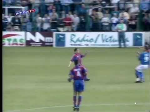 Season 1996/1997. Real Oviedo - FC Barcelona - 2:4