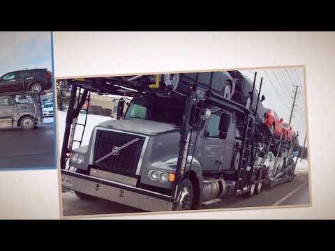 Car Carrier  ✅  Volvo Truck & Cottrell Trailer  🆘⚠️🅿️  Part 1