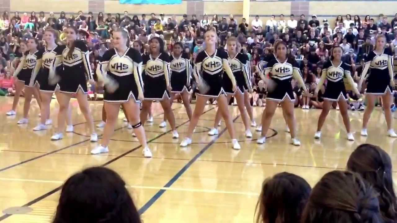 Windsor High School Cheer Team 2013 Rally Youtube