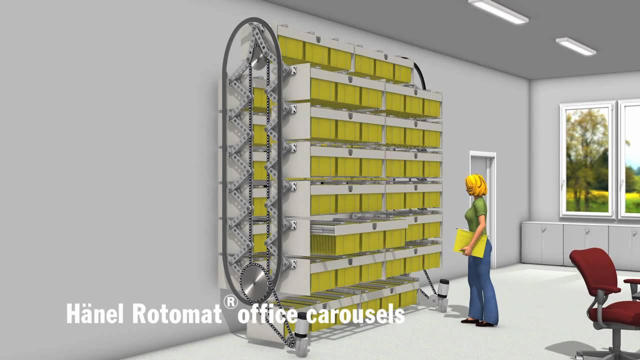 Hanel Rotomatr Office Carousels Youtube