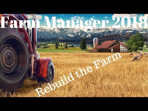 [ENG] Live From The OutHouse! | Farm Manager 2018 |  Rain is a good thing.  (!loots)