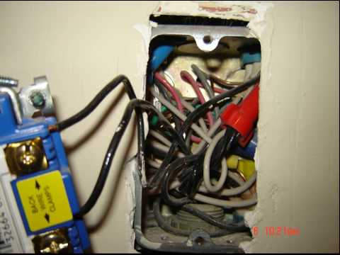 electrical wiring-too many wires