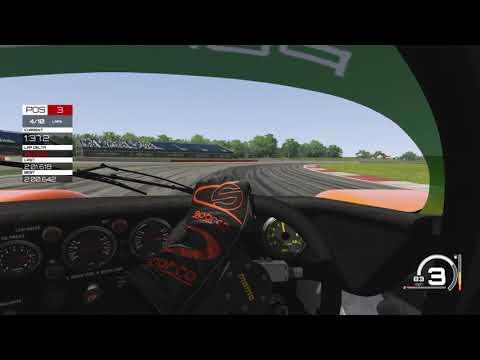 Assetto Corsa Sliverstone Race AI set to Alien Group C Porsche 962