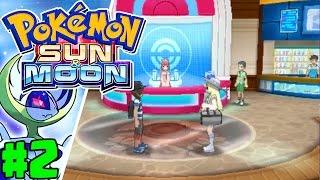 Learning About The Alola Region   Pokémon Sun & Moon Gameplay Walkthrough Episode 2 (Nintendo 3DS)