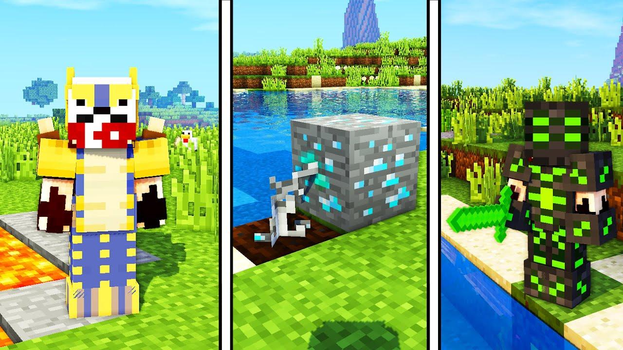 MİNECRAFT'TA ARADIĞINIZ 6 ADET MİNECRAFT MODU - Minecraft