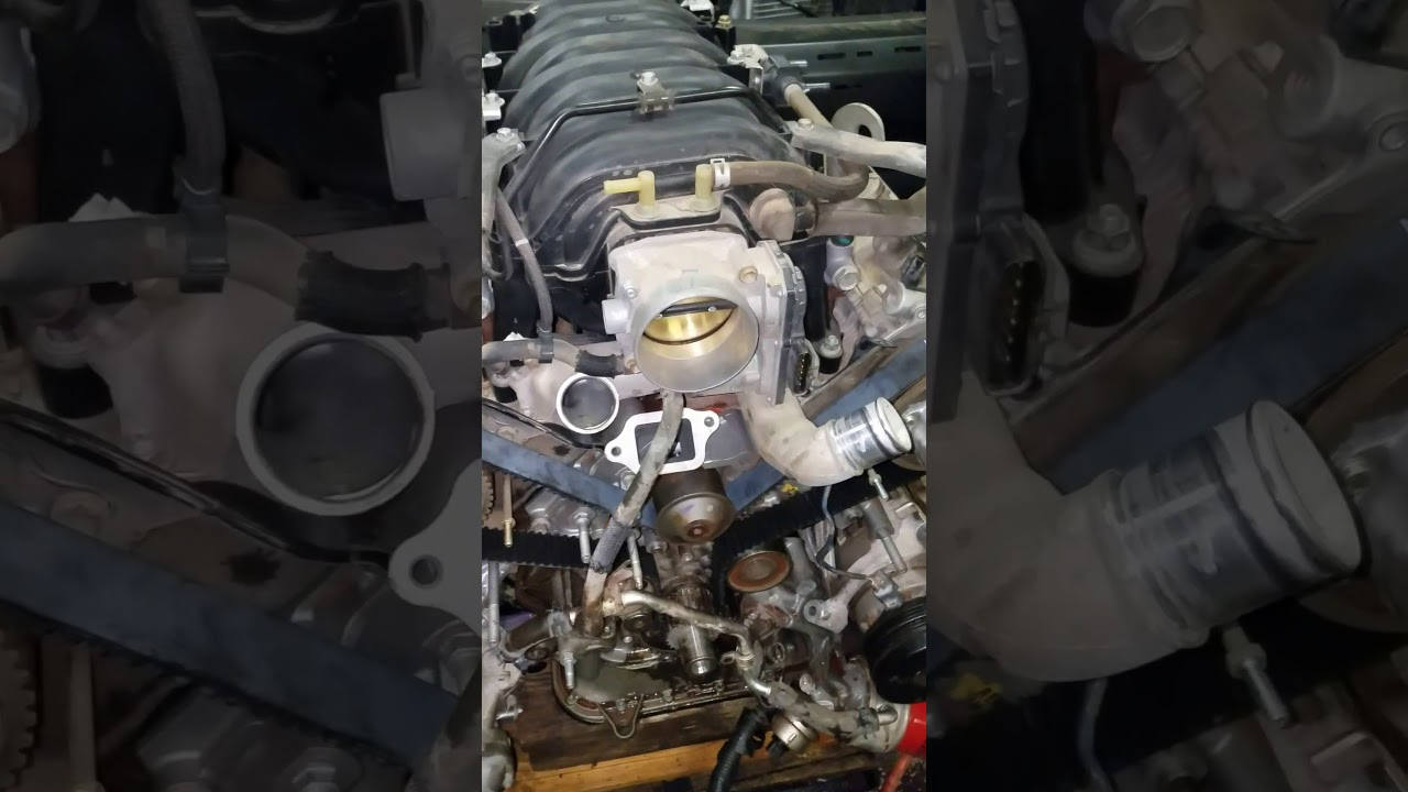 toyota tundra 4 7 water pump and timing belt install