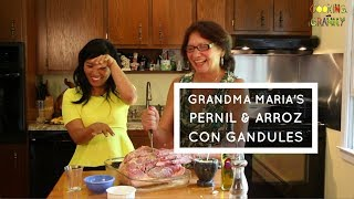 How to Make Pernil & Arroz con Gandules: Puerto Rican Grandma's Recipe (EPISODE #4)