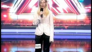 The X Factor - Bulgaria - Mary - 12.09.2011