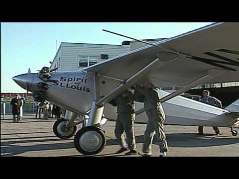"""From The Archives - """"75th Anniversary Re-enactment of Lindbergh's Flight"""""""