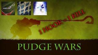 Dota 2 MOD - Pudge wars (1 Hook = 1 Kill ver)