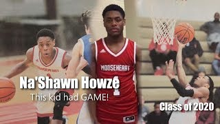 This Sophomore Na'Shawn Howze has GAME!! 2017-18