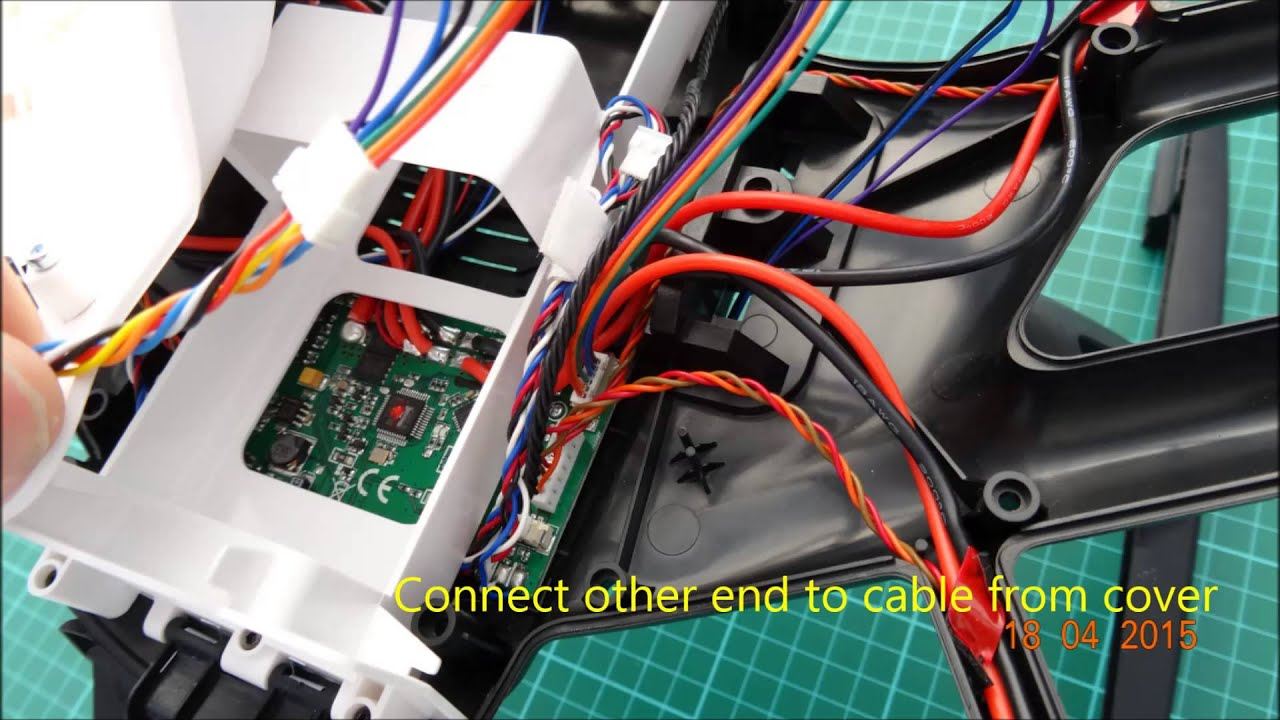 Yuneec Q500 Typhoon Flytrex Core2 Install
