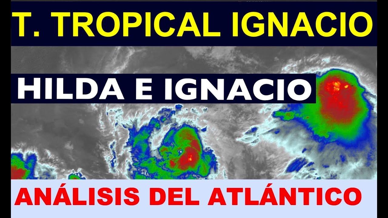 Se forma la Tormenta Tropical IGNACIO. Análisis del Atlántico
