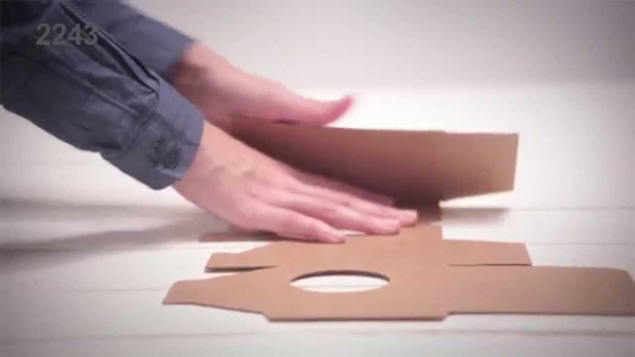 Cajas para tazas - Vídeo de montaje caja 2243 (talla S ...