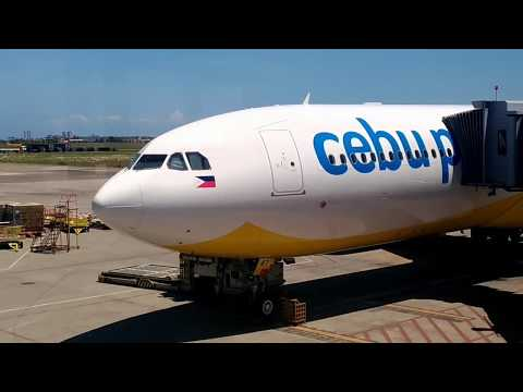 CEBU PACIFIC Flight Review: Manila to Cebu A330-300 Economy Class