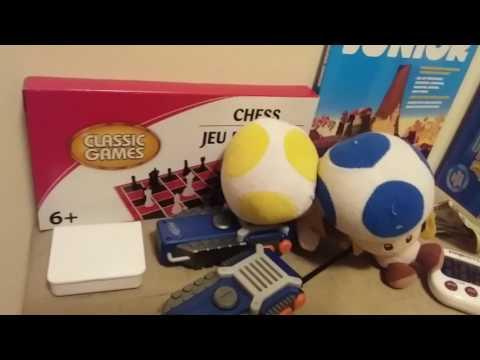 Air Hockey Garage Sale Battle!  Toad's Adventures