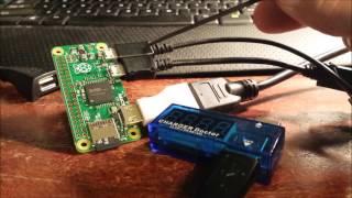 Raspberry Pi Zero SD card setup and 1st Pi Zero Booting