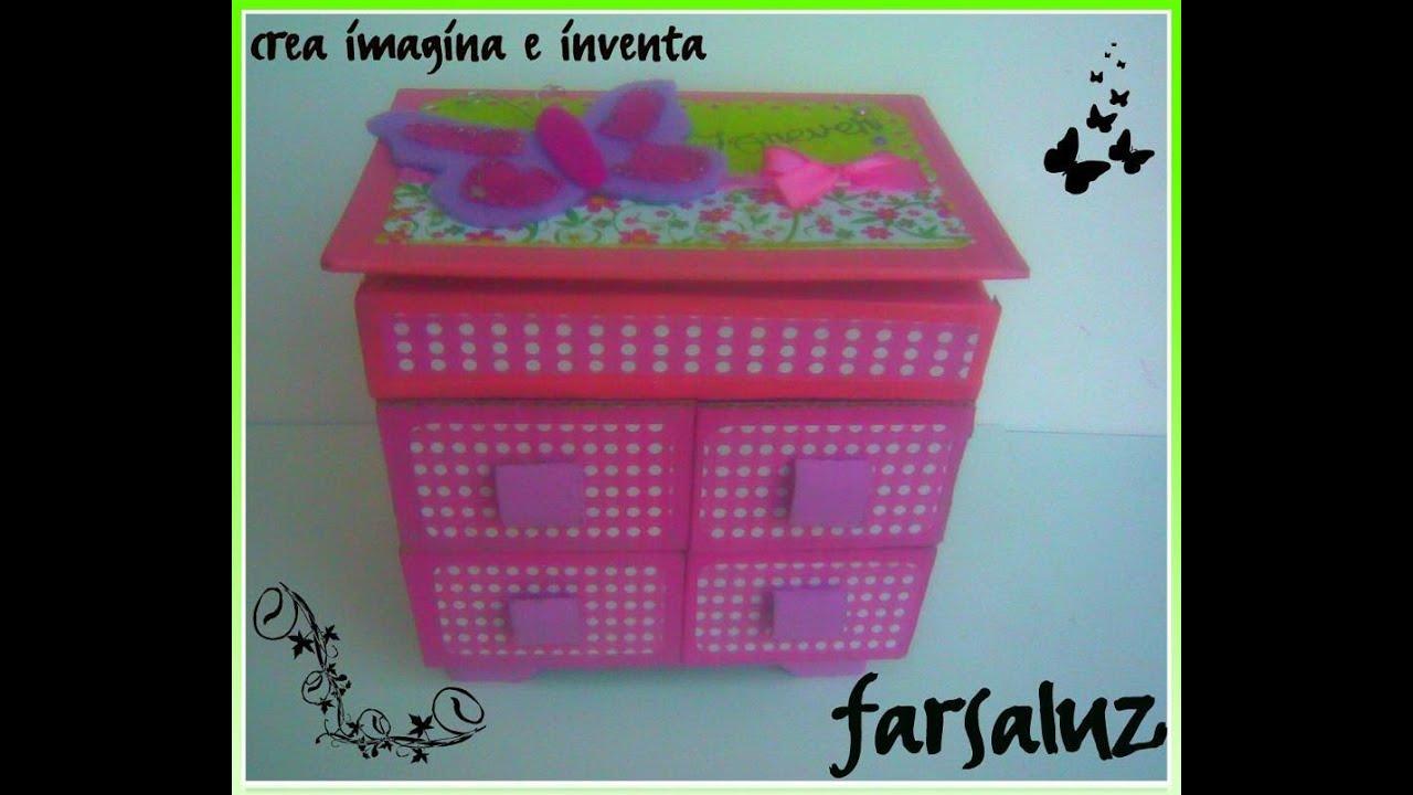Idea como decorar un alajero de cart n scrapbook youtube for Como decorar un antejardin pequeno