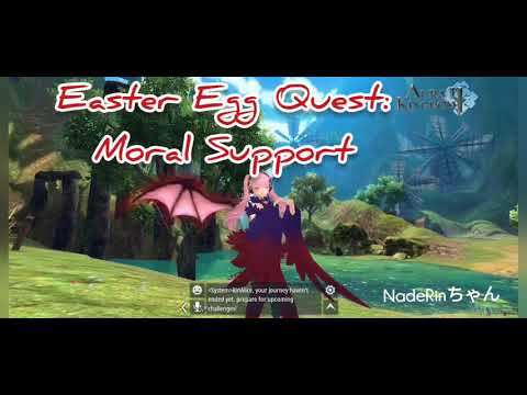 Aura Kingdom 2 Easter Egg Quest Moral Support Goldenwheat Valley Youtube