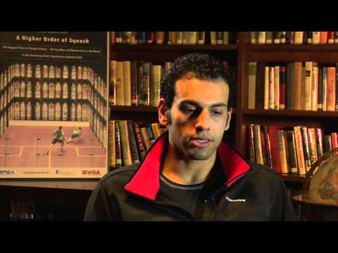 Squash: Mohamed Elshorbagy talks about facing Greg Gaultier