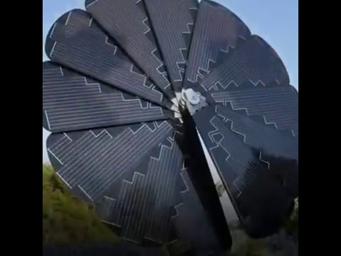 New Model for solar panels #Blooming solar Panels#Solar System