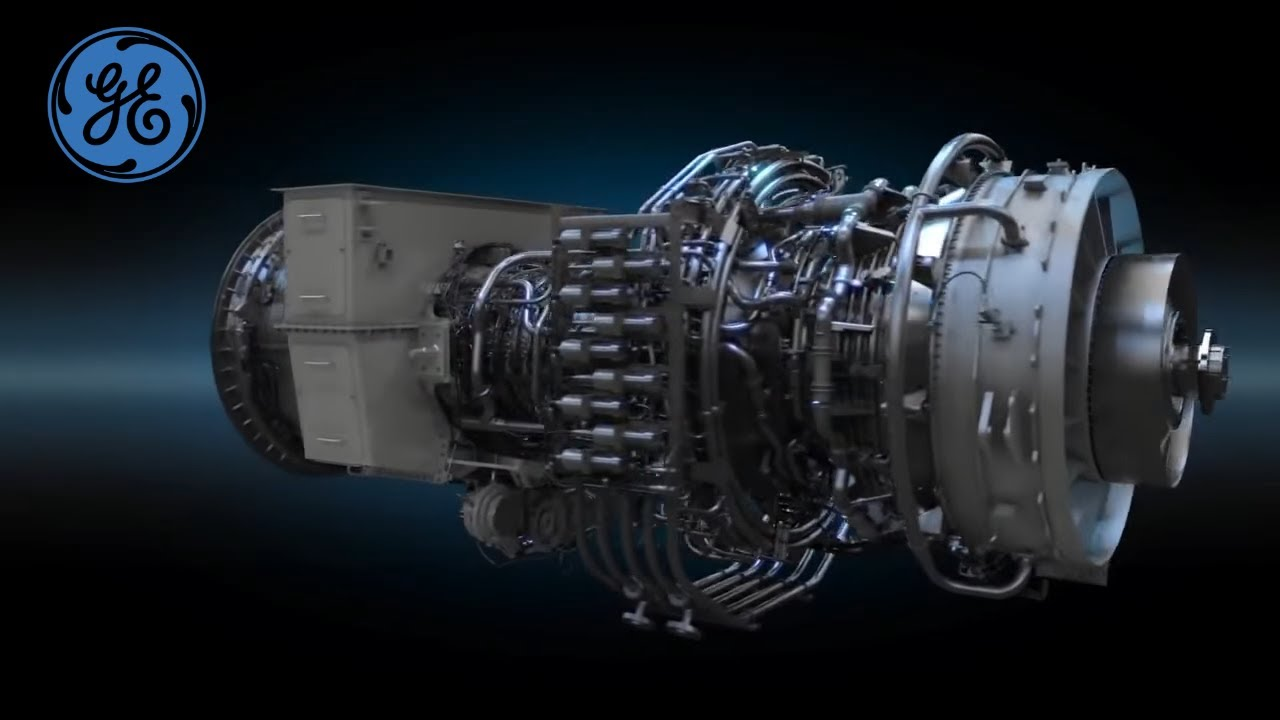 FlexAero LM6000-PH Animation   Gas Power Generation   GE Power