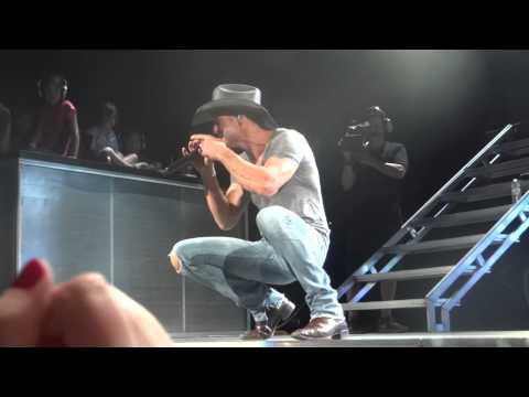 Tim McGraw Tiny Dancer cover Phx, AZ