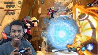 THIS GAME IS BUSTED! Naruto to Boruto Shinobi Striker Beta RAGE QUIT!