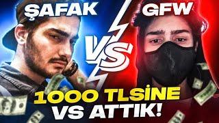 GAREN FOR WİN VS ŞAFAK | 1000 TLSİNE 1V1 ATTIK OYNAT BAKALIM!!