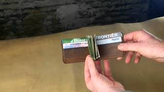Mitchell Money Clip Wallet - A Closer Look