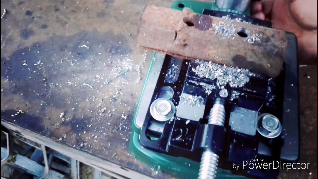 Proba In Metal Masina De Gaurit Cu Coloana Parkside Ptbm 500 D4 500w