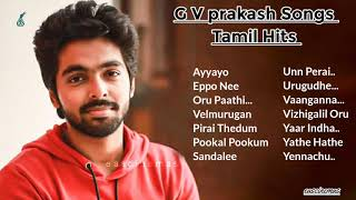 GV Prakash Songs Tamil Hits | JukeBox | Tamil Songs | Love Songs | Melody Songs | Hits | eascinemas