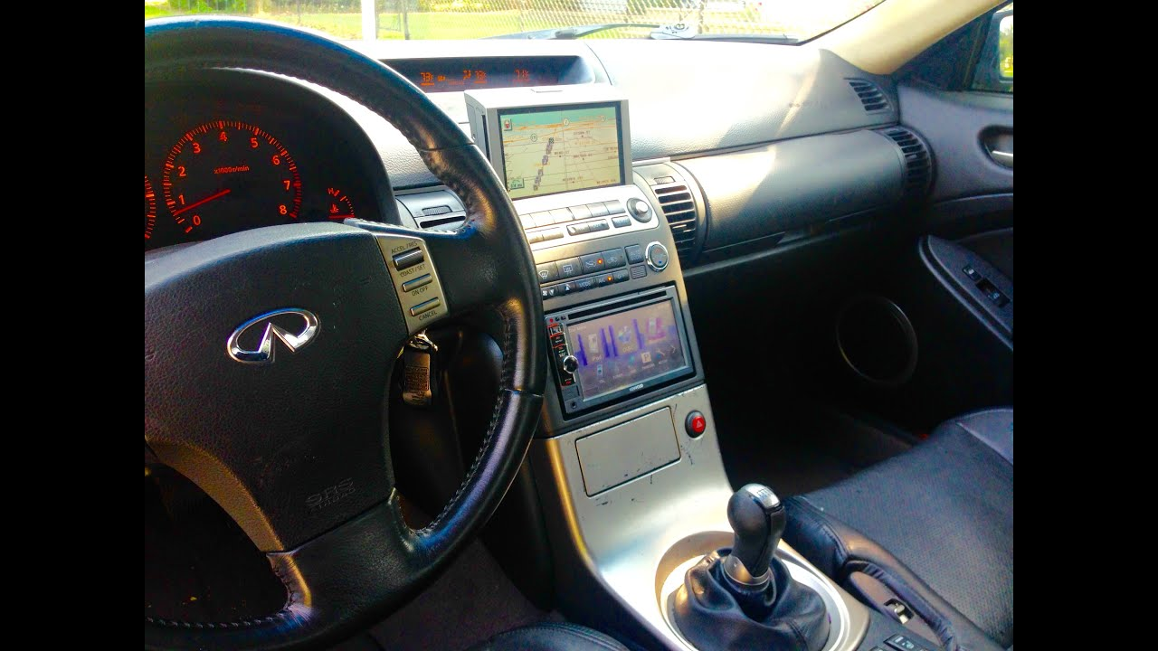 hight resolution of diy g35 jdm dash kit with factory navi setup and install hd