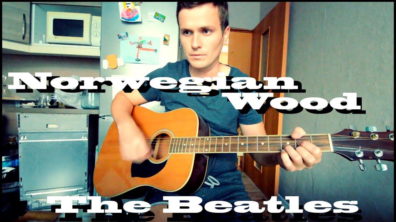 Guitar Chords The Beatles Norwegian Wood Youtube