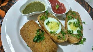 Egg Balls - Crispy Egg Cutlets / Ramazan special