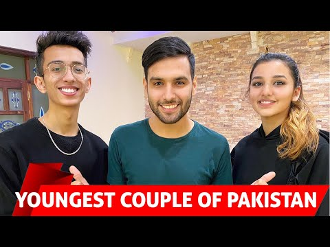 MEETING THE YOUNGEST COUPLE OF PAKISTAN | Asad And Nimrah