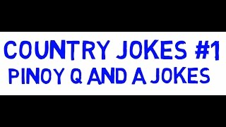 Country Jokes #1 Animated Pinoy Q and A Jokes